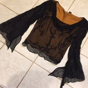 Scala blouse with exclusive ornaments size XL